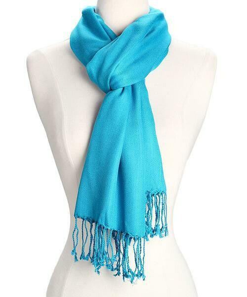 Amtal Pashmina Solid Scarf          *Multiple color choices*