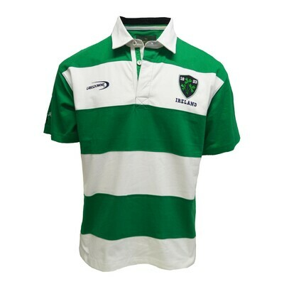 Emerald/White Rugby Shirt