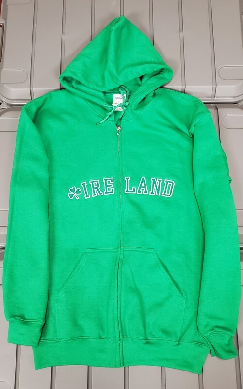 Kelly Ireland Embroidered Hoodie