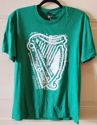 Guinness Green St Patrick Harp