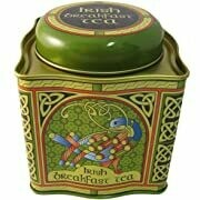 Breakfast Tea - Celtic Peacock Tin