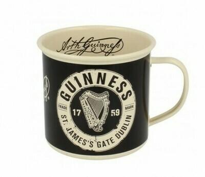 Guinness Black & Cream Mug