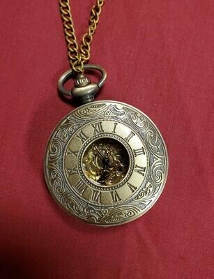 Vintage Roman Pocket Watch