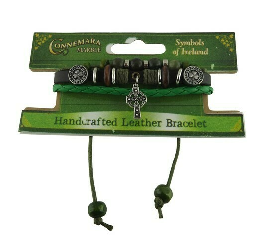 Cross Charm Hippy Bracelet
