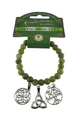 Celtic Triple Charm Bracelet