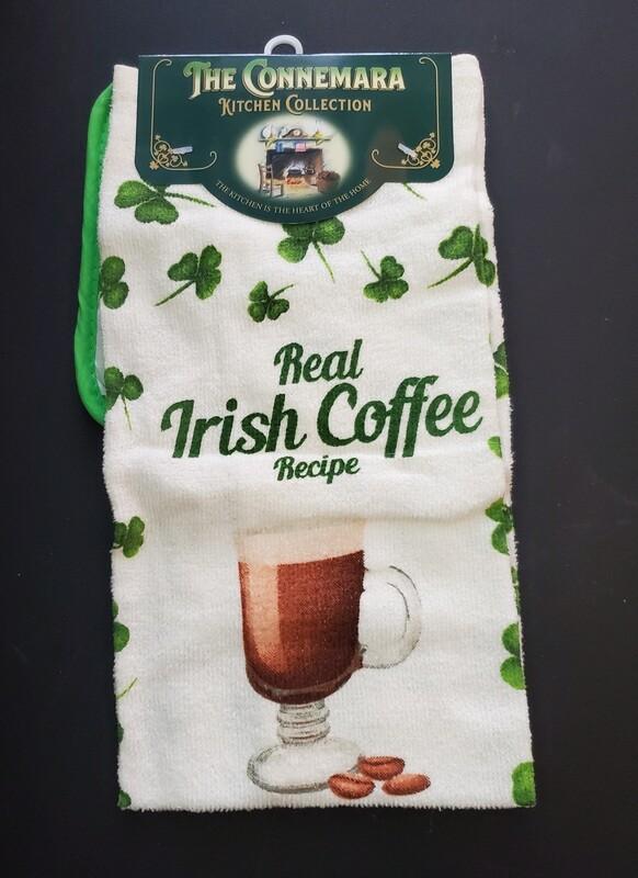 Irish Recipes Tea Towel