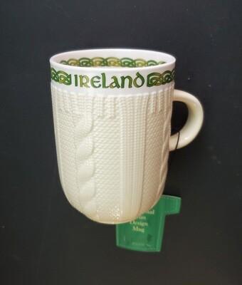 Beige Aran Mug