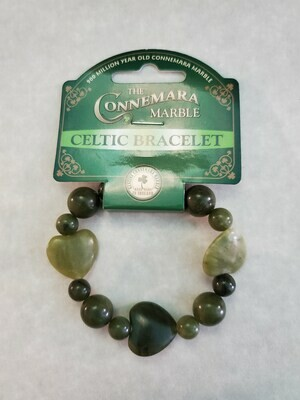 Love Marble Heart Bracelet
