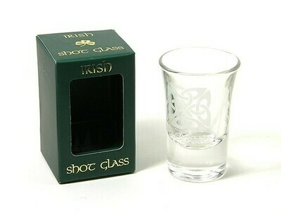 Shot Glass-Celtic Square