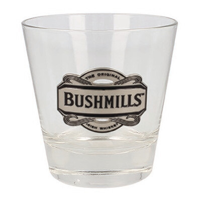 Pewter Whiskey Glass - Logo Bushmills