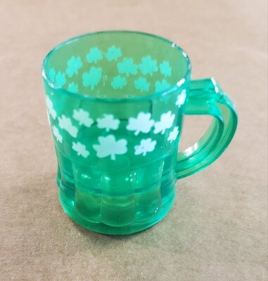 Traveling Shamrock Shot Glass
