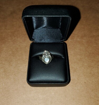 Claddagh Marcasite Size 5