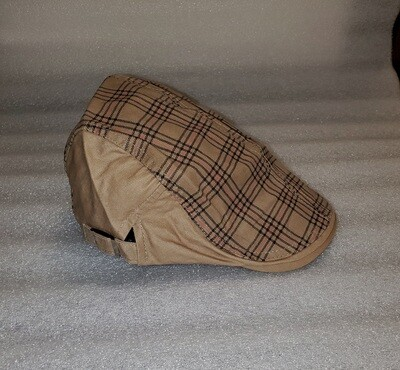 Irish Golf Cap - Beige