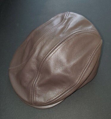 Applejack Ivy Leather Cap