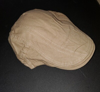 Cotton Adjustable Cabbie Cap