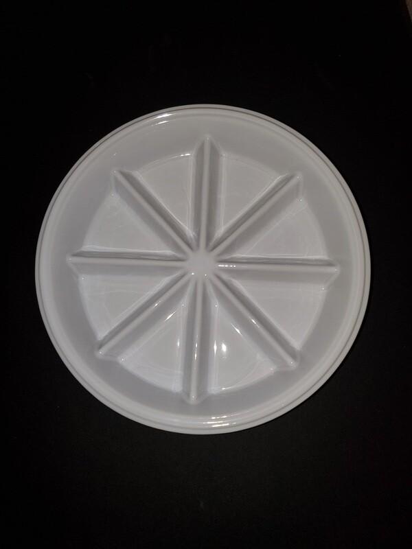 Scone Dish-White