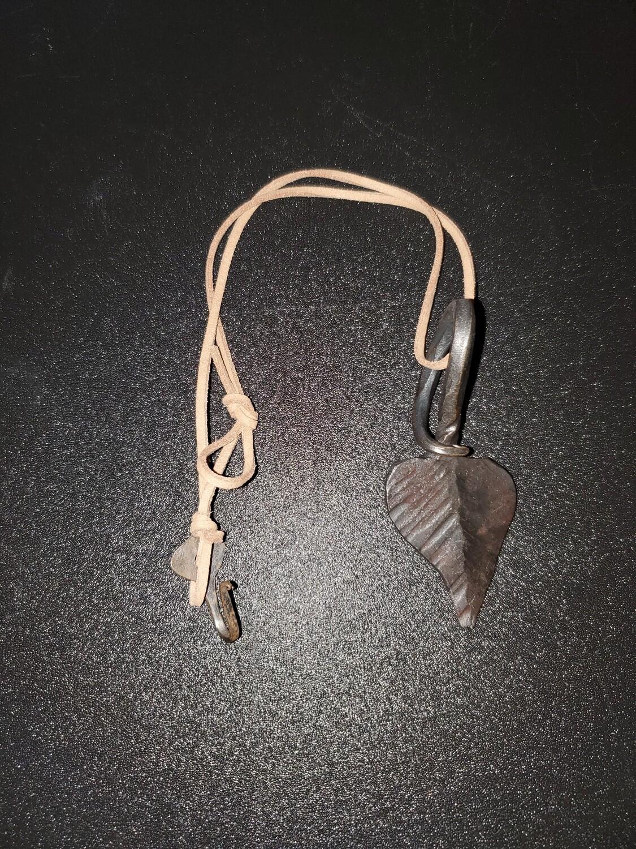 Hand Forged Leaf