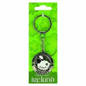 Sheep Spinner Key Ring