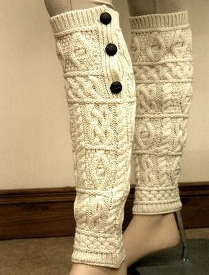 Aran Leg Warmers