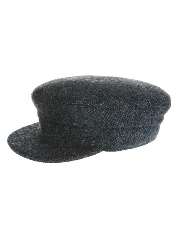 Tweed Skipper Hat