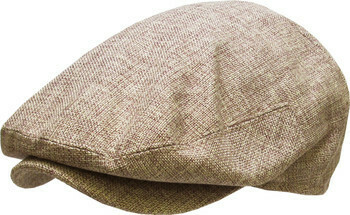 Brown Mix Ascot Cap