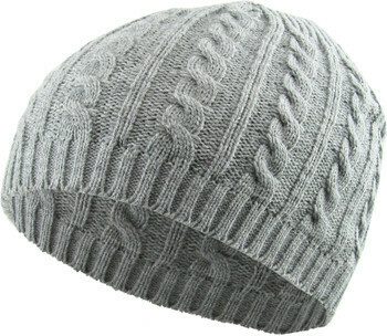 Cable Knit Beanie Cap