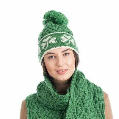 Wool Shamrock Hat