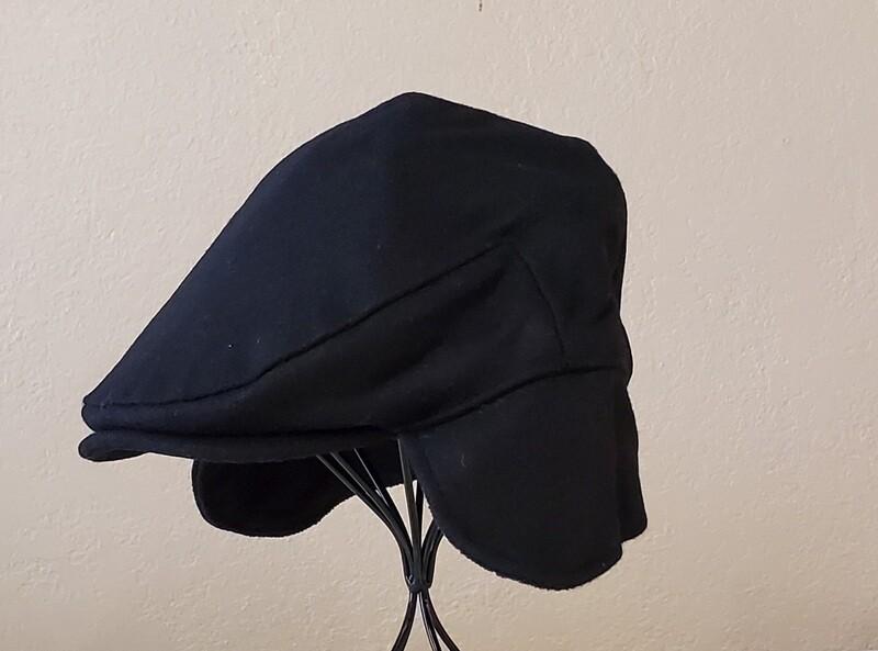 Newsboy Muff-Black