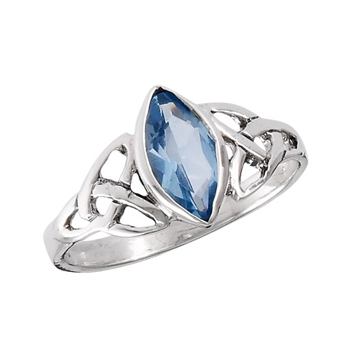 SS Celtic Blue Ring