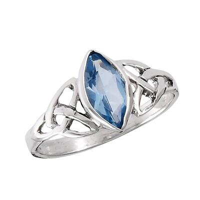 SS Celtic Blue Ring