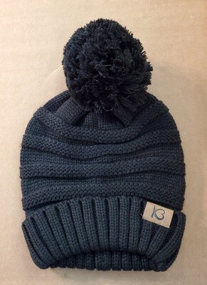Ribbed Knit Beanie  *color choices*