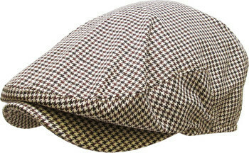 Ascot Flat Cap - Brown