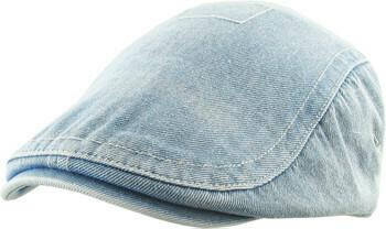 Denim Flat Cap