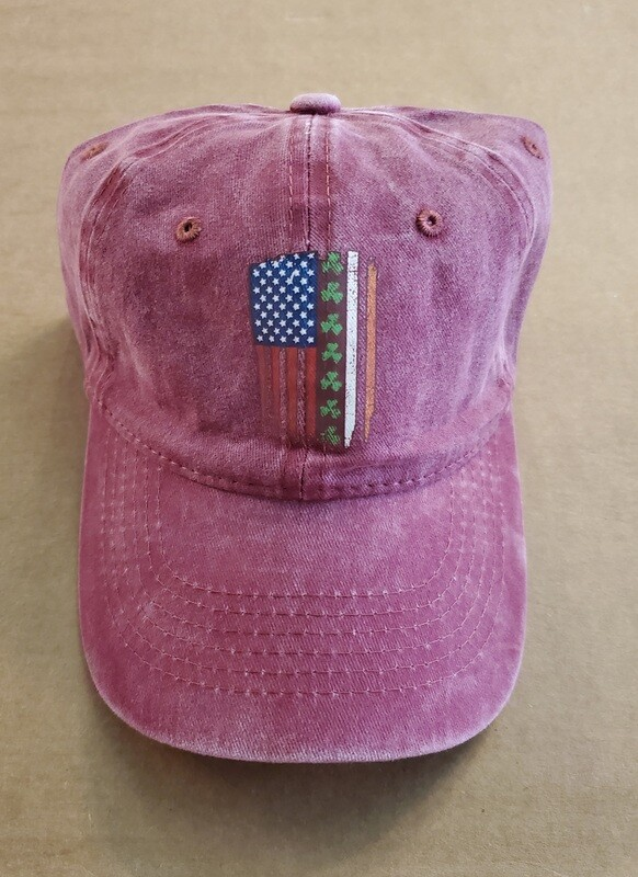 Shamrock Flag Cap
