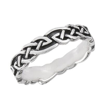 SS Celtic Weave Ring