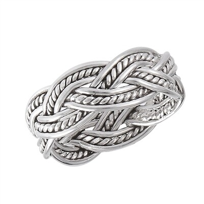 SS Weave Ring