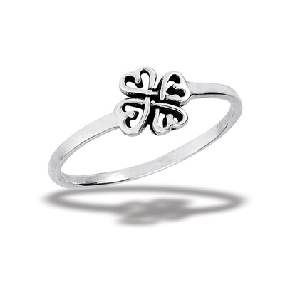SS Four Hearts Ring
