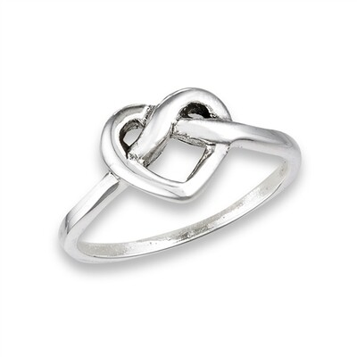 SS Love Knot Ring