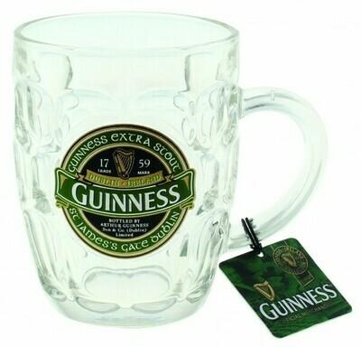 Guinness Dimpled Mug