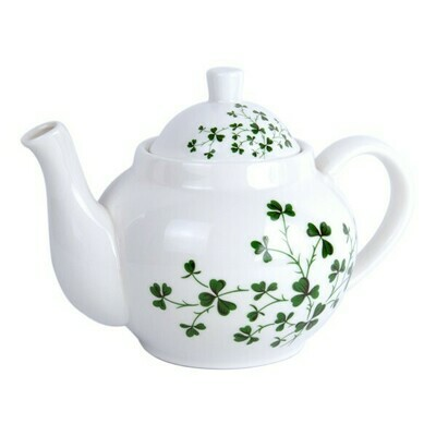 Shamrock Teatime Pot