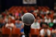 Overcome a fear of public speaking