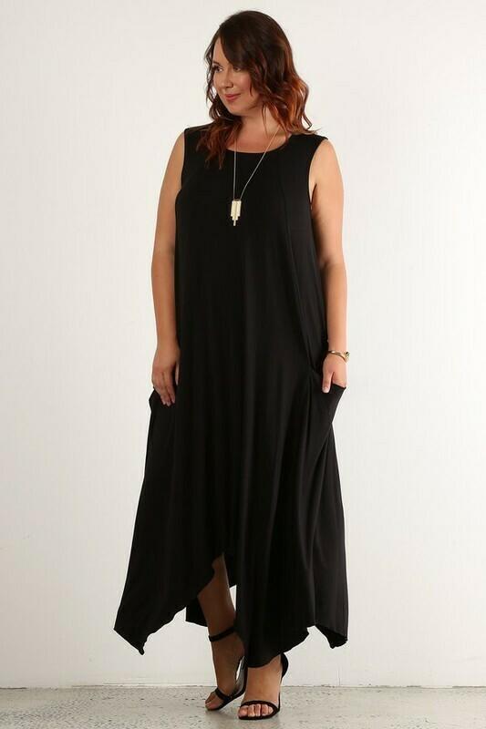 Nalgae X A-line Maxi Dress