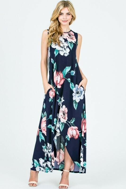 Twentyten Navy Floral Dress