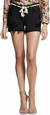 Sanctuary Denim Shorts Blk