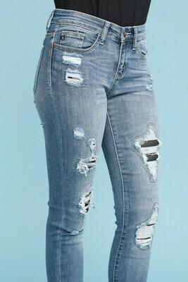 Judy Blue PL Camo Jeans