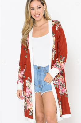 Hailey Floral Cardigan