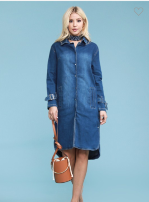Judy Blue Trench Coat PL