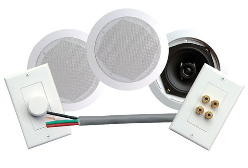 Astounding 200 Watts 5 1 4 Dual In Ceiling Speaker Volume Contro Speaker Wall Wiring Digital Resources Anistprontobusorg