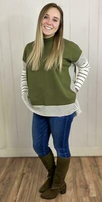 Meadow Striped Sweater