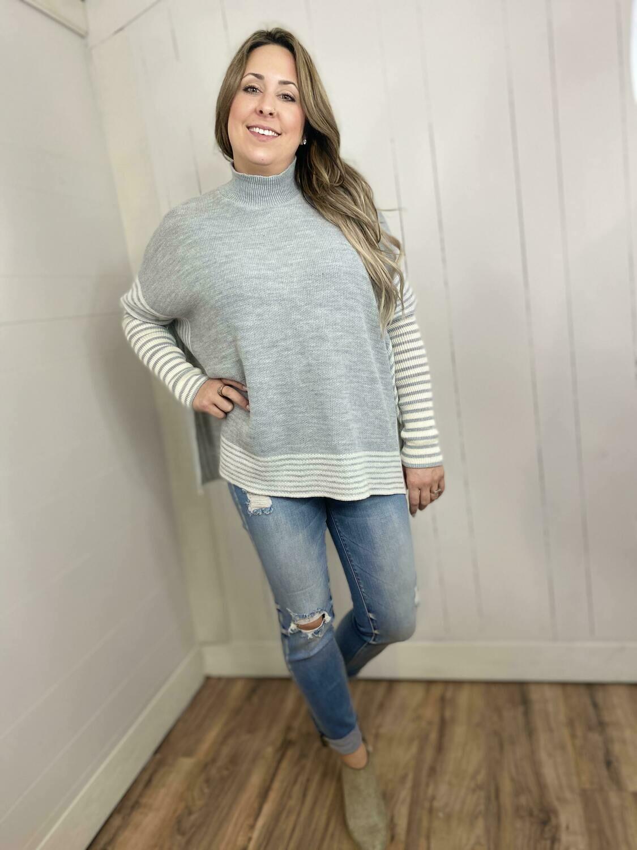 Skylar Mock Neck Sweater